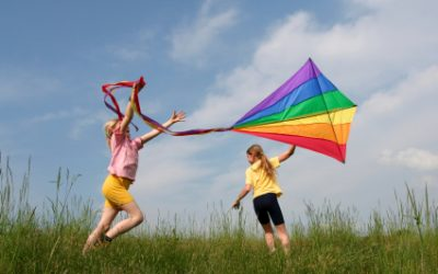 'Let's go fly a kite'…